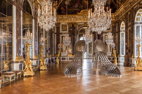 Joana Vasconcelos in Versailles