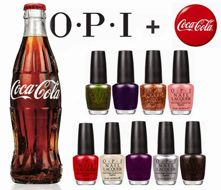 OPI+COCA-COLA=MAGIC (P)