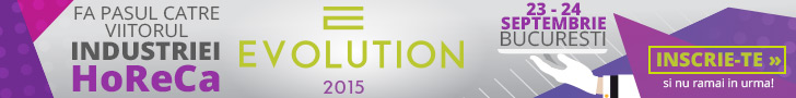 Evolution 2015 – eveniment dedicat profesionistilor din HORECA