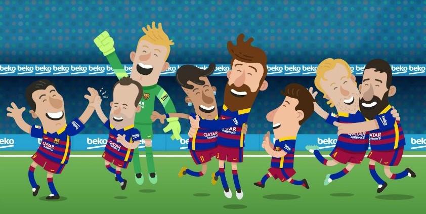 Beko are o super campanie alături de F.C. Barcelona