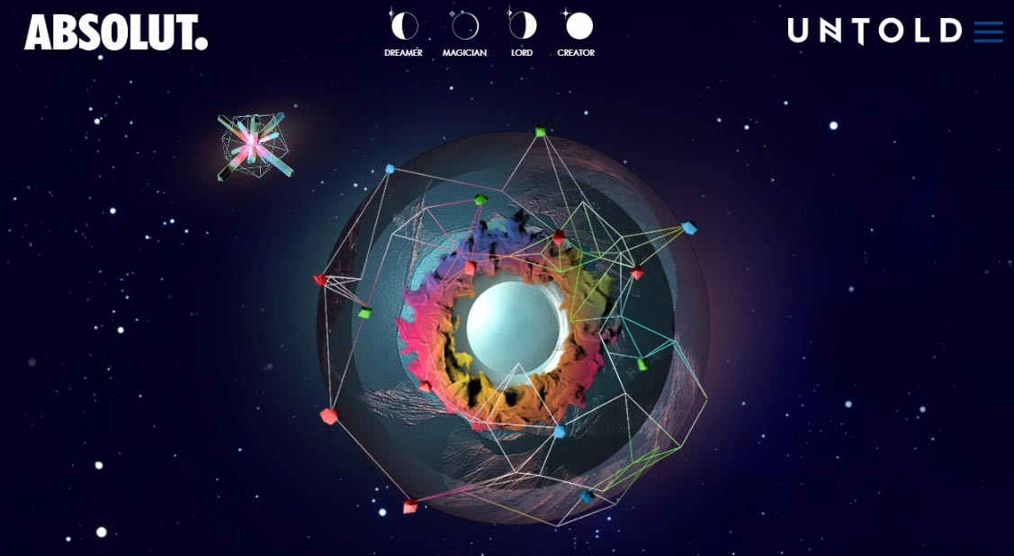 Devino creatorul Universului UNTOLD cu Absolut!