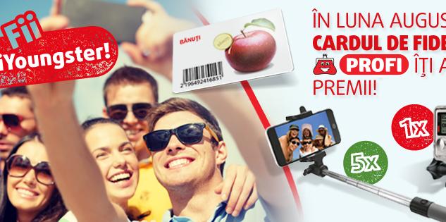 Fii #ProfiYoungster și câștigă 1 GoPro și multe alte premii! (P)