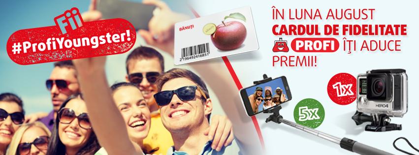 Fii #ProfiYoungster și câștigă 1 GoPro și multe alte premii!