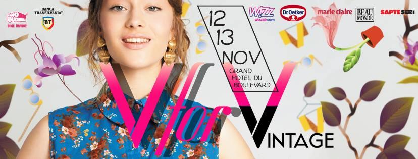 În weekend ne vedem la V for Vintage!