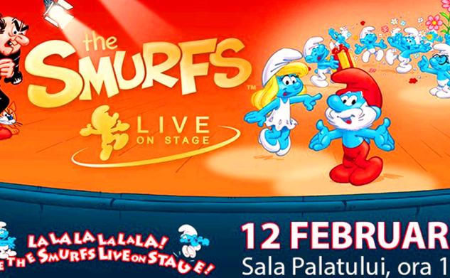 Smurfii vin în România să facă spectacol! (C) – spectacolul se amână pentru 15 octombrie