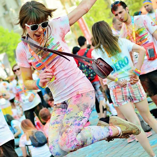 Hai cu mine la The Color Run București!