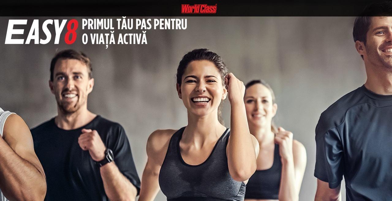 World Class România a lansat Easy8 – programul pentru sportivi începători