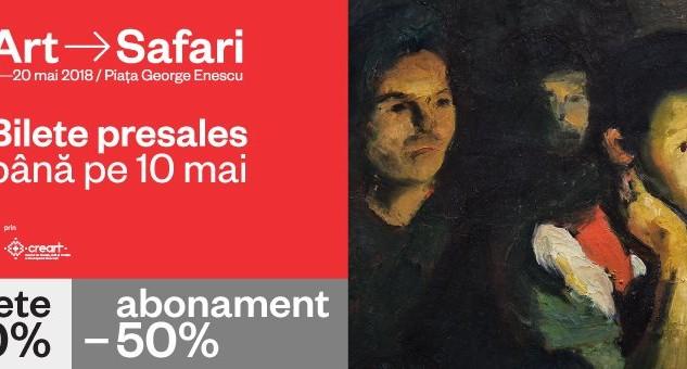 Începe ART SAFARI, cel mai mare eveniment dedicat artei din România