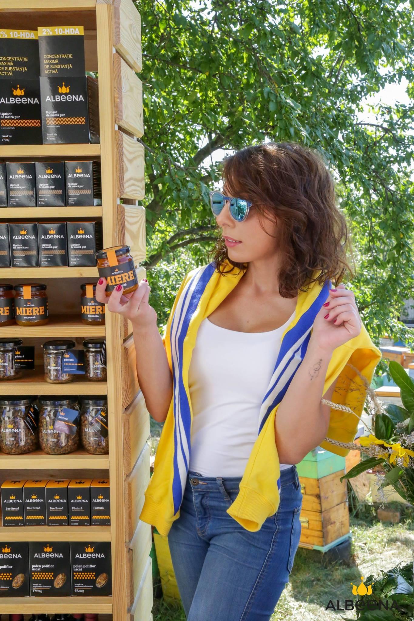 Acasă la albine cu ALBEENA #BEHAPPY