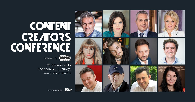 Un nou eveniment pentru creatorii de conținut de la BIZ