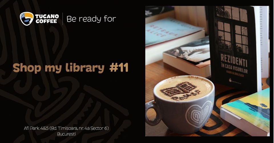 Te aștept la Shop my Library să cumperi cărți și să faci o faptă bună!