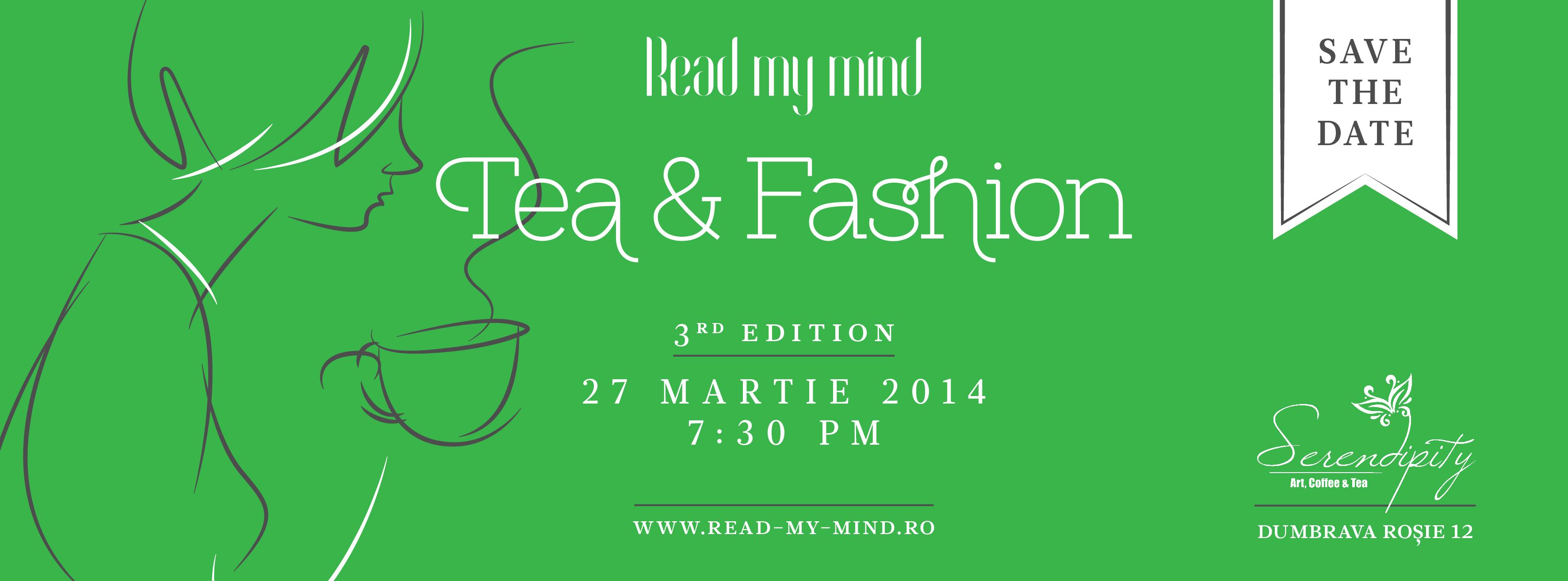 Readmymind tea&fashion 3-SAVE the date: 27 martie 2014