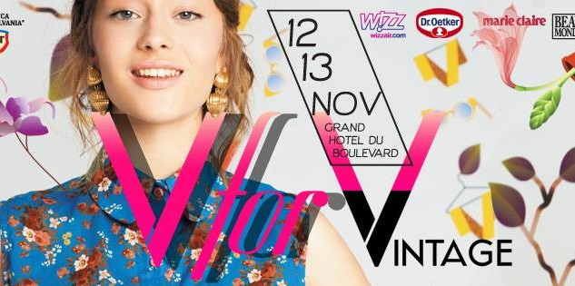 În weekend ne vedem la V for Vintage!