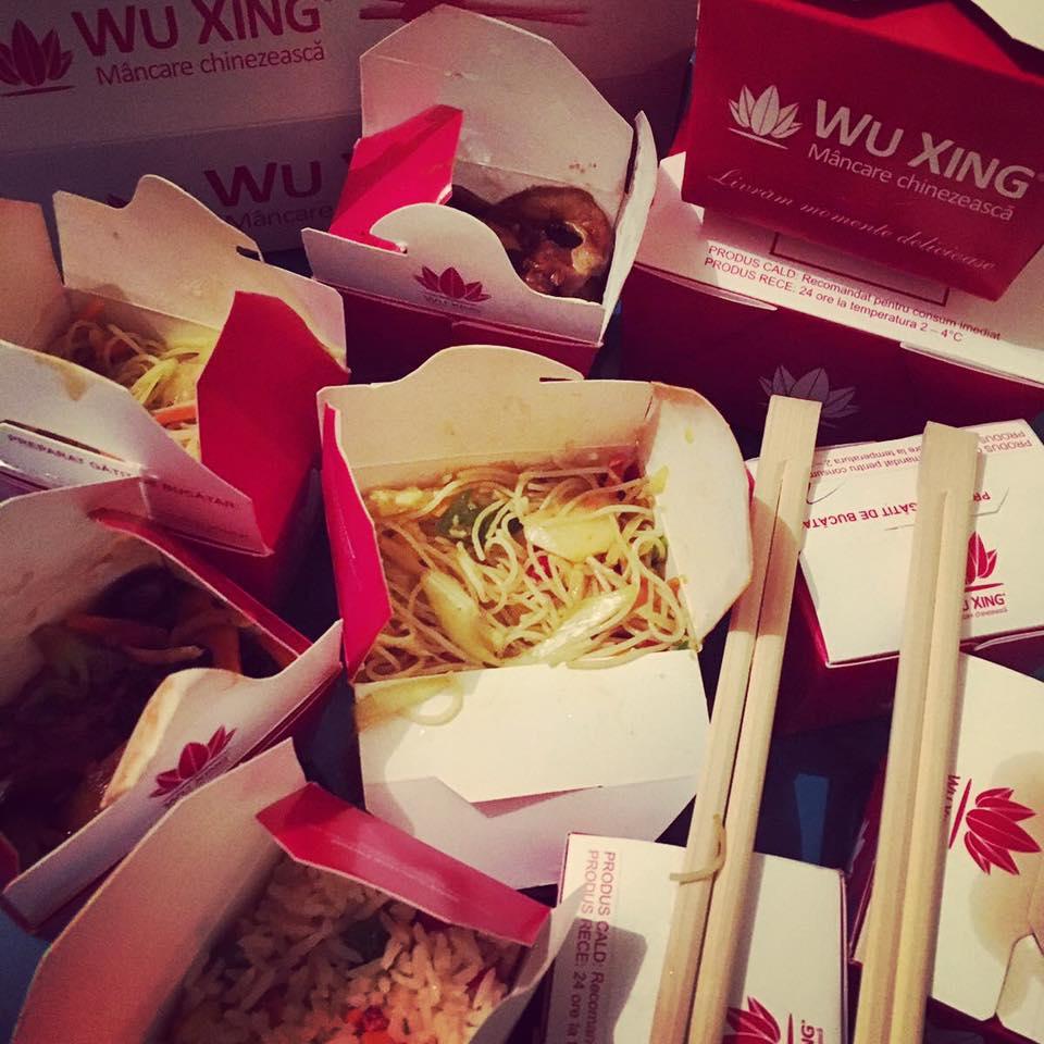 Urechi de lemn și alte bunătăți chinezești pentru vegetarieni de la Wu Xing (P)
