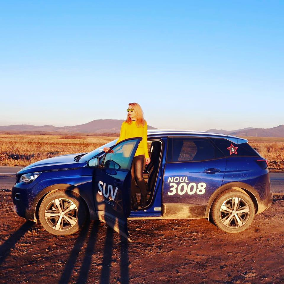 Am testat noul SUV PEUGEOT 3008 prin țară (P)