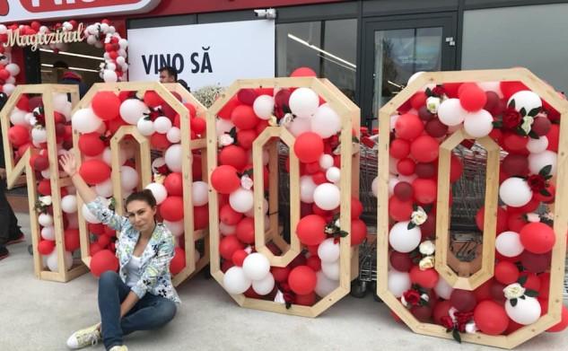 1000 de magazine Profi în România și 110.000 flori oferite (P)