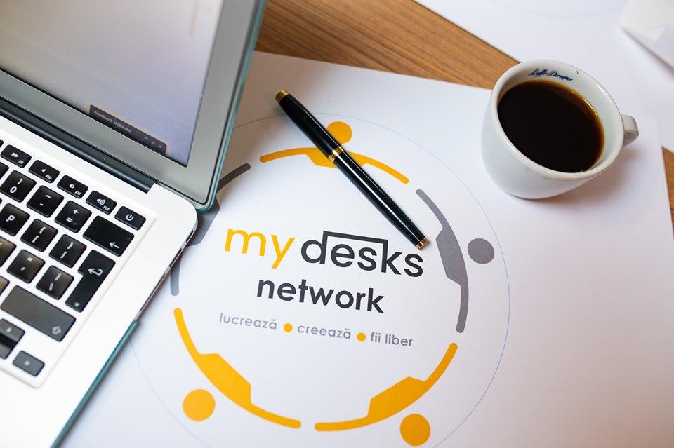 MYDESKS – aplicația care transformă cafenele și restaurante în spații de co-working (P)