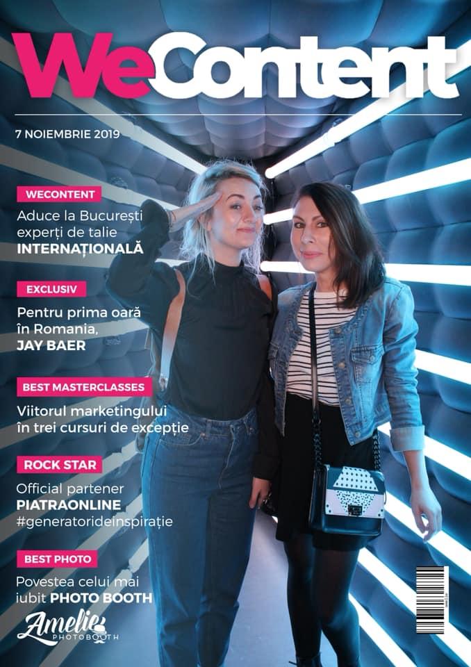 Prezentul și viitorul conținutului de la Wecontent 2019