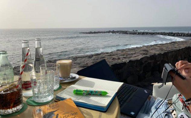 NOMAD DIGITAL pe insulă (Tenerife 2021)